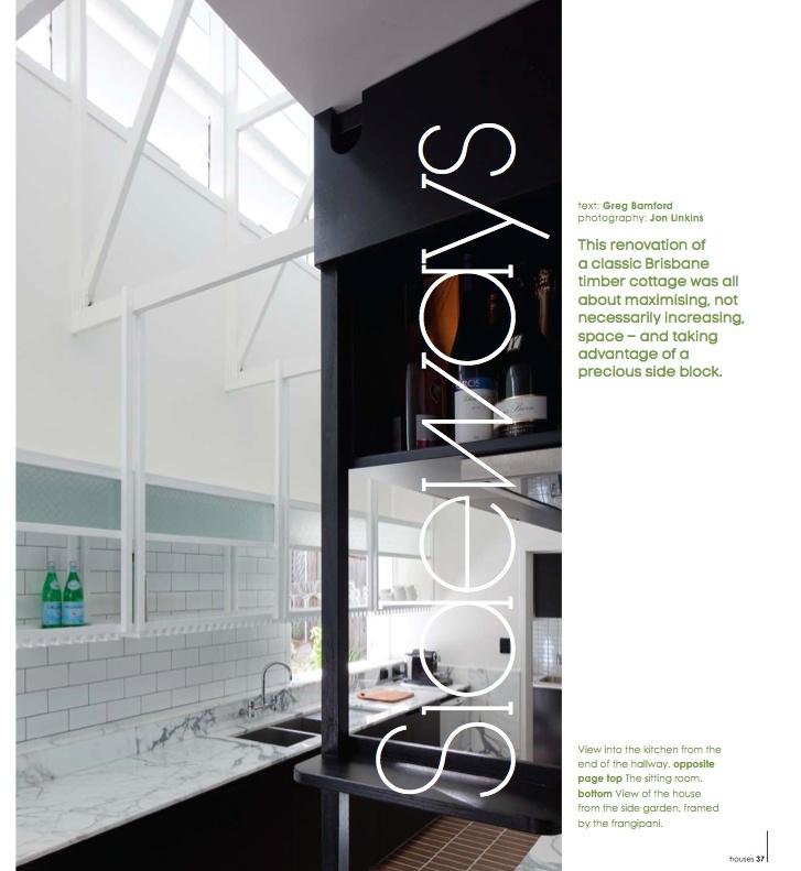 sideways - photography: Jon Linkens, architect: Owen & Vokes
