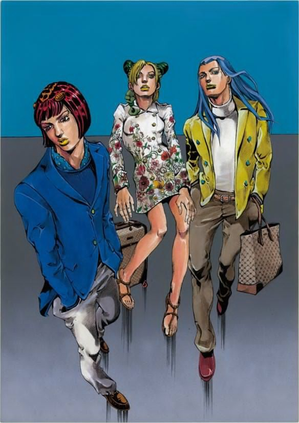 Fly High With Gucci\u201d, Gucci meets manga comics!