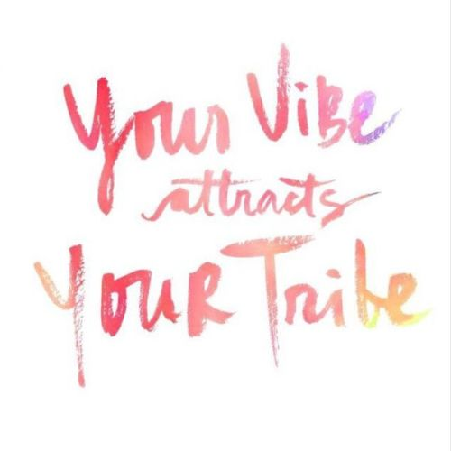 Your vibe attracts your tribe. Via @charmandchain on Instagram