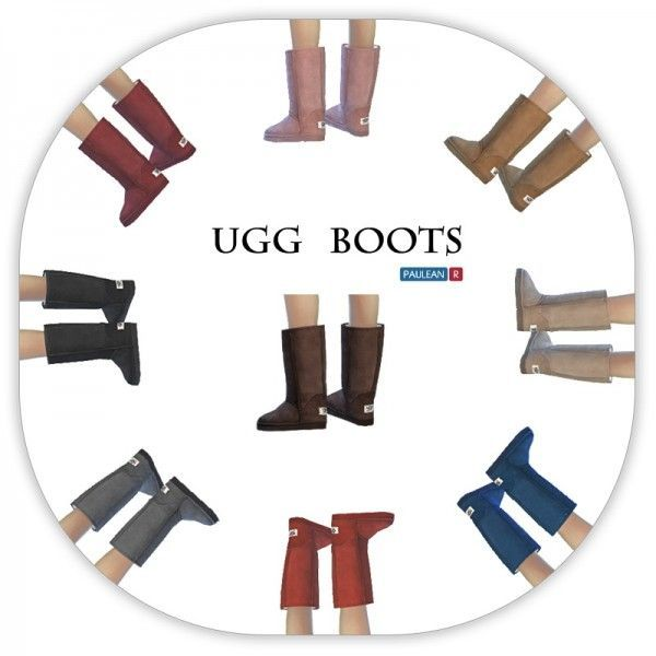 Paluean R Sims: Ugg boots • Sims 4 Downloads