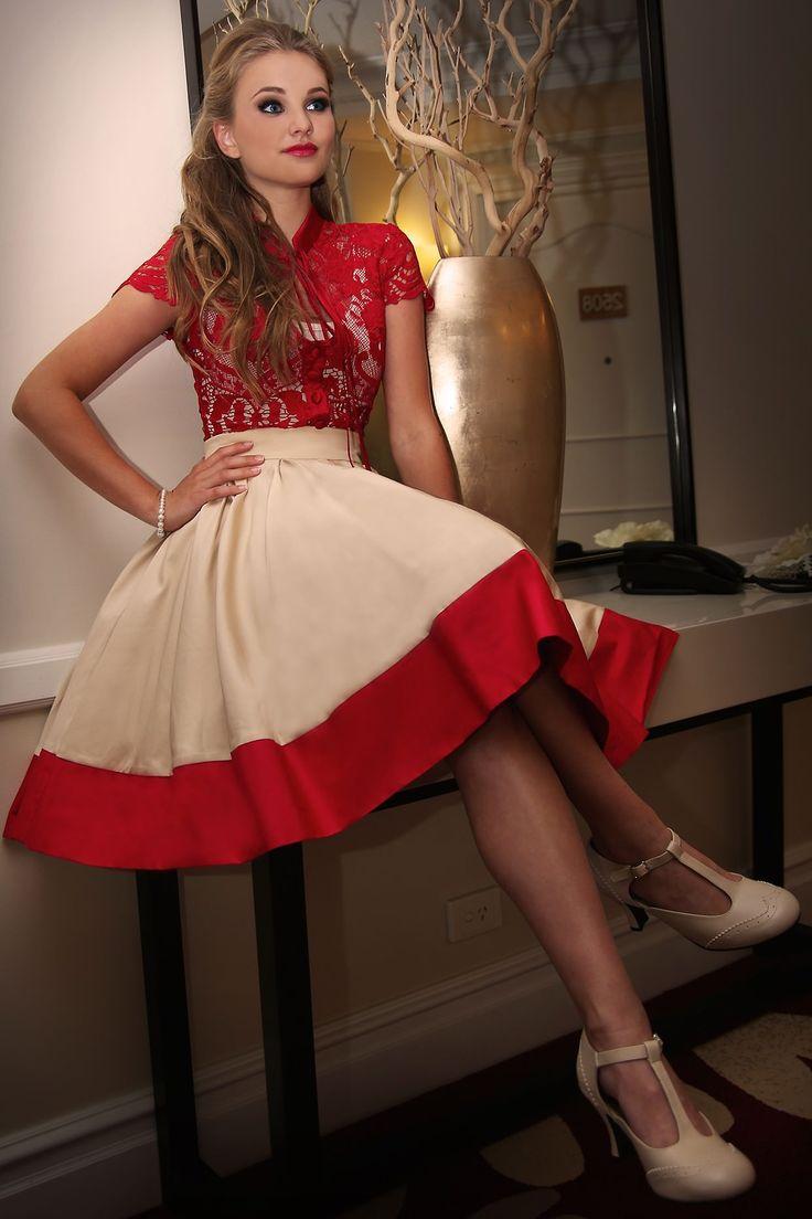 Scarlet Full Skirt