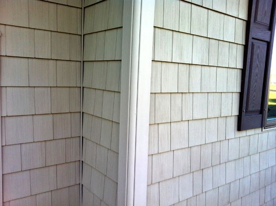 17 best images about extrior trim woodwork ideas on for Wood siding vs hardiplank