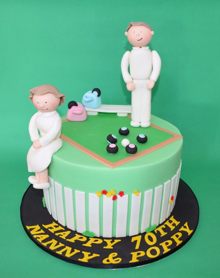 Green Cake Decorations Uk : 14 best images about crown green bowling on Pinterest