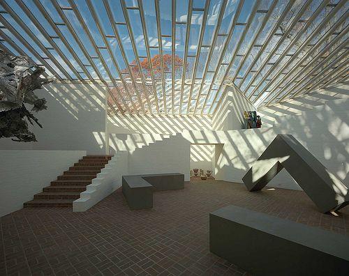 Philip Johnson Glass House - Sculpture Gallery,  © Harf Zimmermann