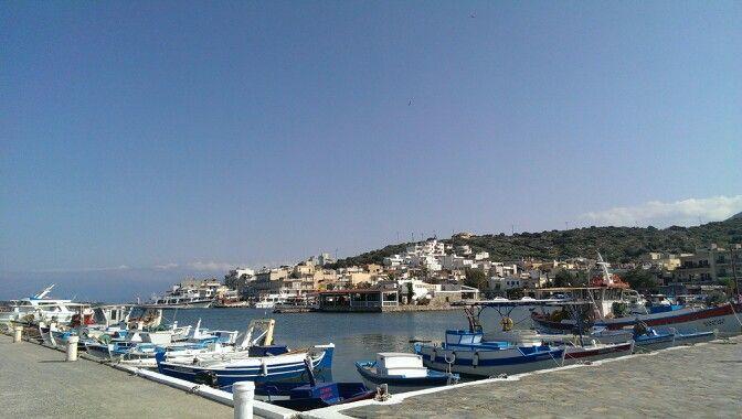Elounda Harbour, Crete