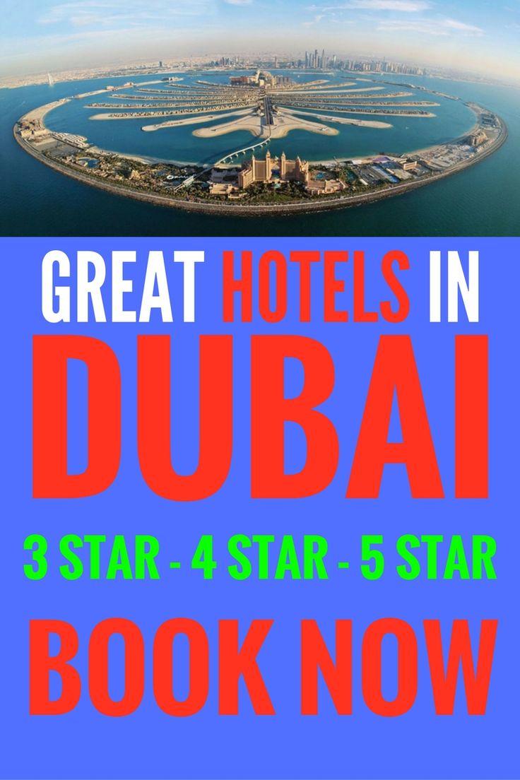 GREAT 3 STAR 4 STAR 5 STAR HOTEL DEALS IN DUBAI, UAE. BOOK NOW