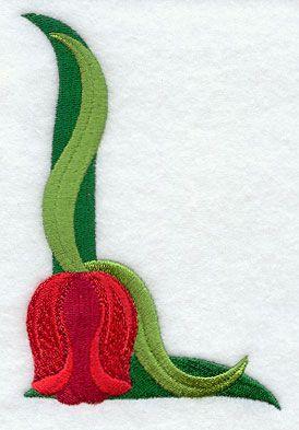 Tulip Letter L - 5 inchAbc