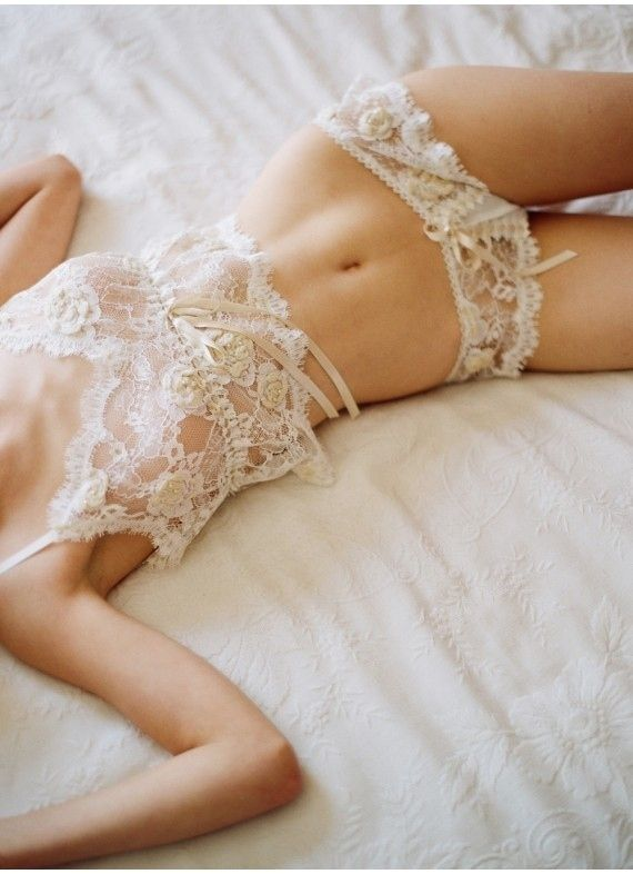 Sexy-Classy Bridal Lingerie to Wear on Your Wedding Night - Lingerie: Claire Pettibone