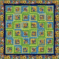 My Sunshine Log Cabin Quilt