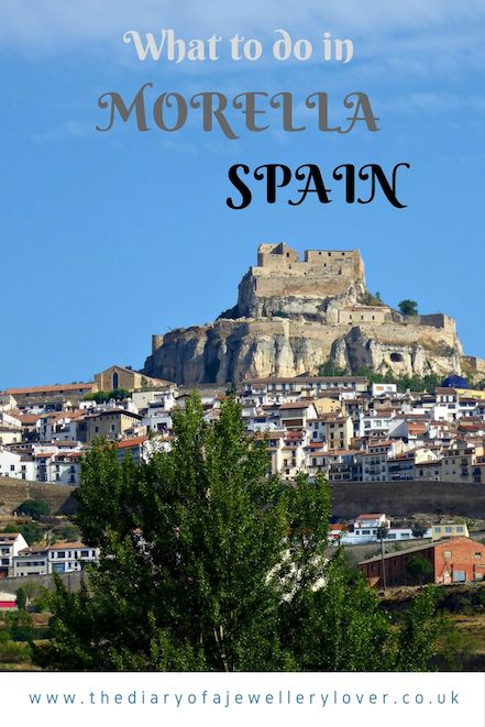 Discovering Morella in the Castellón Province Of Spain | The Diary Of A Jewellery Lover including Morella castle, truffles, gourmet food, El Cid and  Hotel Restaurant Cardenal Ram. Areas to visit include Saint Mary's Church too