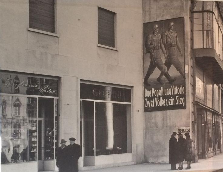 Manifesto di propaganda nazista a Trieste nel 1944