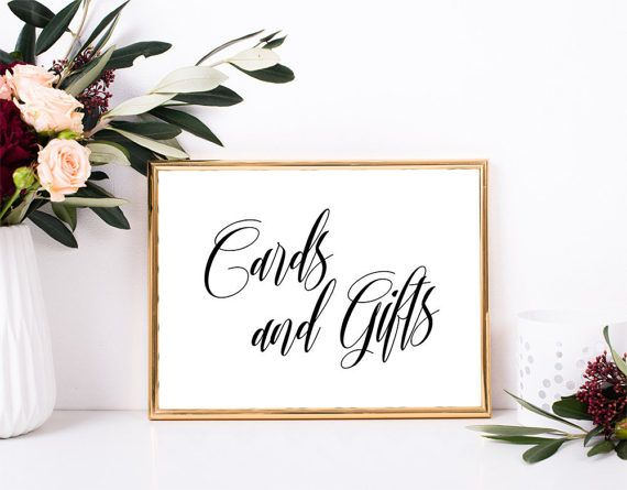 Wedding Gift Table Sign Ideas : ideas about Gift Table Signs on Pinterest Wedding gift tables, Gift ...