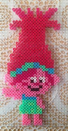 Princess Poppy, Trolls, Perler/Hama beads