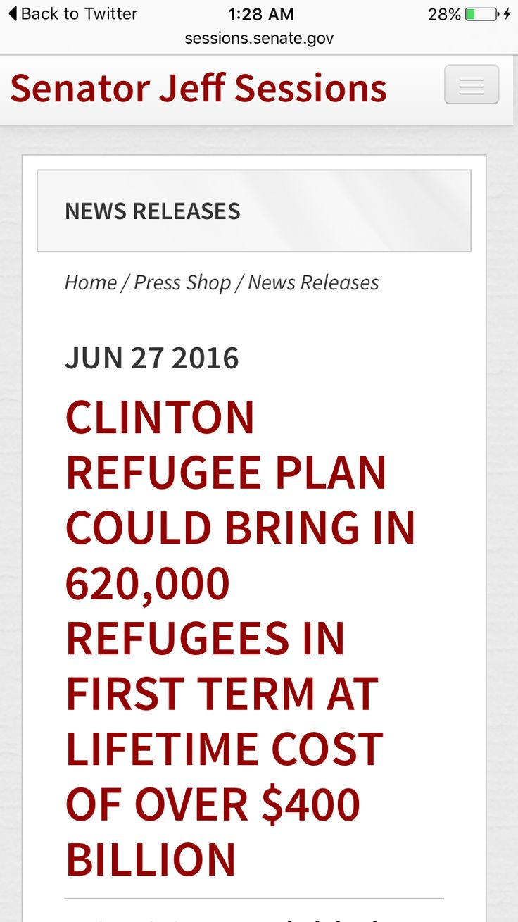"""THAT'S 425 PER DAY! A LIFETIME COST OF $644,641 PER """"REFUGEE!"""" A MERE $274,000,000 PER DAY! HILLARY, REALLY, CAN WE AFFORD THAT?! I MEAN, YOU KNOW, WITH ALMOST 1 MILLION AMERICANS OUT OF WORK! ***AND YOU'RE A GENIUS*** SERIOUSLY!!!"""