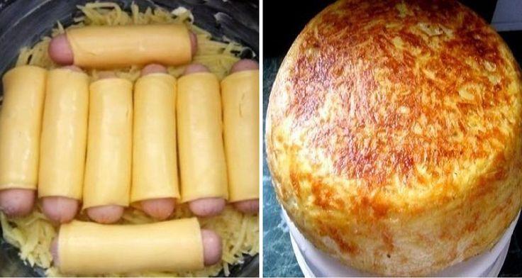 musaca de cartofi cu crenvursti