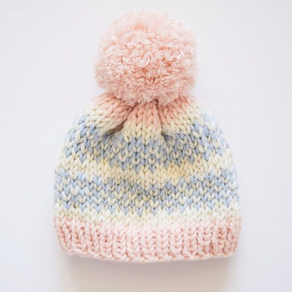 KNITTING PATTERN : Lil Baby Hat / knitting pattern fair isle