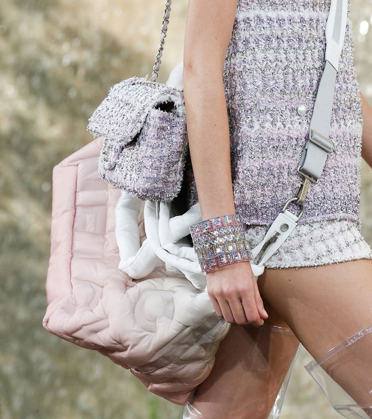 59 Brand New Chanel Bags, Straight From the Brand's Mermaid Blue Spring 2018 Runway in Paris - PurseBlog