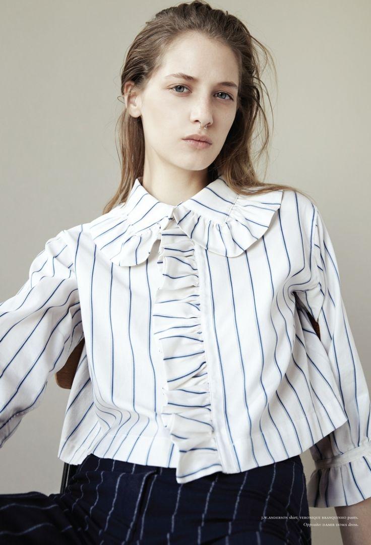 Russh Editorial October-November 2014 - Melina Gesto by Arno Frugier