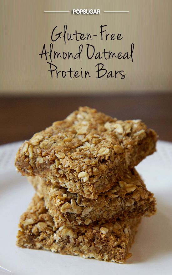 Almond Oatmeal Protein Bar Recipe