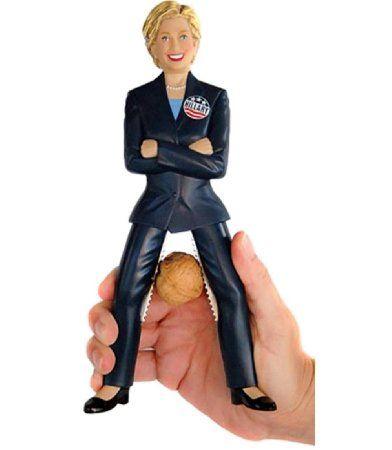 #Amazon: $36.95: Hillary Clinton Nutcracker #LavaHot http://www.lavahotdeals.com/us/cheap/hillary-clinton-nutcracker/106119