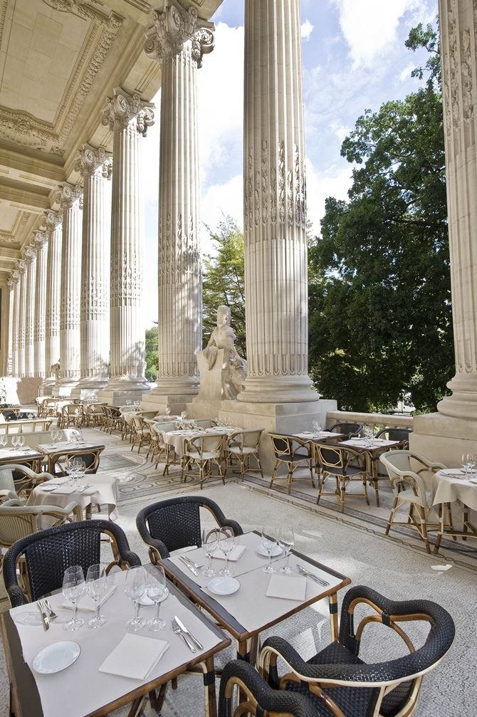 La Terrasse du Petit Palais, Paris | Inspire yourself in http://www.bocadolobo.com/en/inspiration-and-ideas/