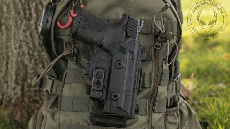 MOLLE Holsters From Alien Gear Holsters