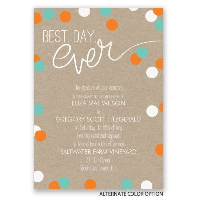 145 best Wedding Invites images on Pinterest Invites, Invitation - best of invitation wording lunch to follow