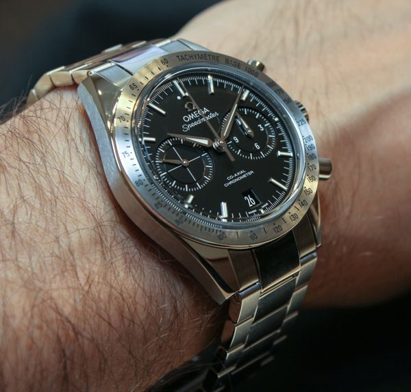 Omega Speedmaster '57 Co-axial Chronograph [A sexy beast! 7400 CHF or about  $8,000 for the steel version (though that price is probably for the leather strap)]