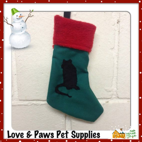 We love our pet rats, but it can be hard to include them in the Christmas celebrations with all the hustle and bustle of family in town, meals to prepare and gift giving- now there's an easy way! Introducing our Christmas stockings for rats, featuring an adorable little ratty silhouette and red fleece trim. With an included spring clip they are ready to hang in the cage as decoration or stuff with your ratty friends favourite treats. Merry Christmas from Love & Paws Pet Supplies!!