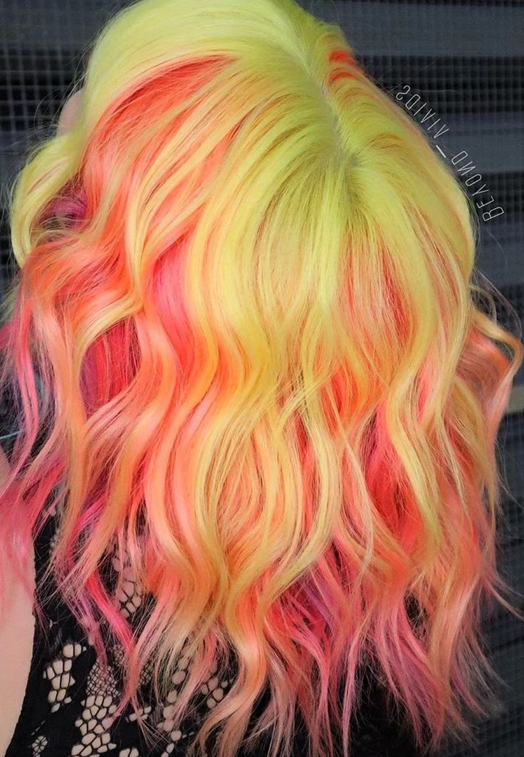 100+ Awesome Color Hairstyles Ideas in 2019 Hair styles
