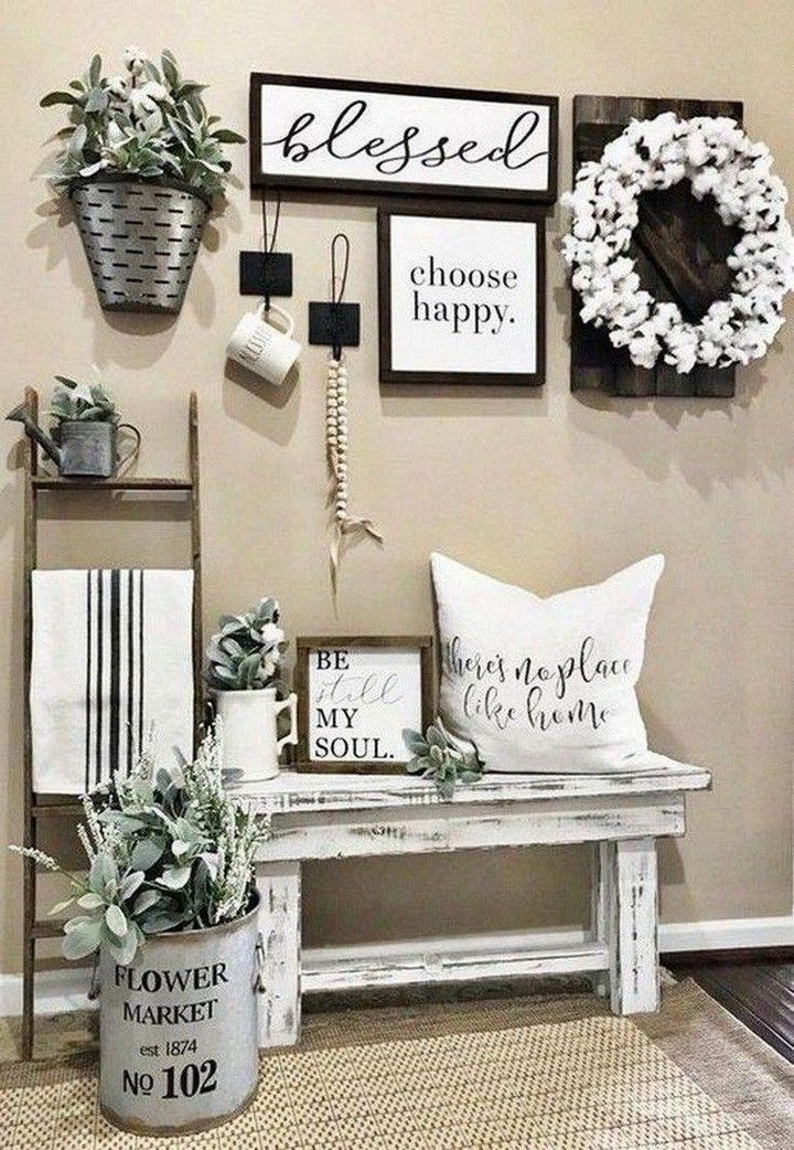 Best Farmhouse Wall Decor Ideas And Designs For 2020 In 2020