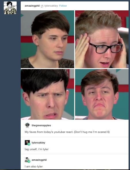 I like how Phil's reaction is completely like 'what the fudge?' and Dan is just bluntly 'eh, I've seen worse'