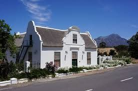 cape dutch houses Tulbach South Africa