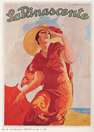 """Anno: 1923 Soggetto: """"La Rinascente"""" - Stampa Star-Igap , Milano Provenienza: Raccolta Salce, Museo Bailo, Treviso"""