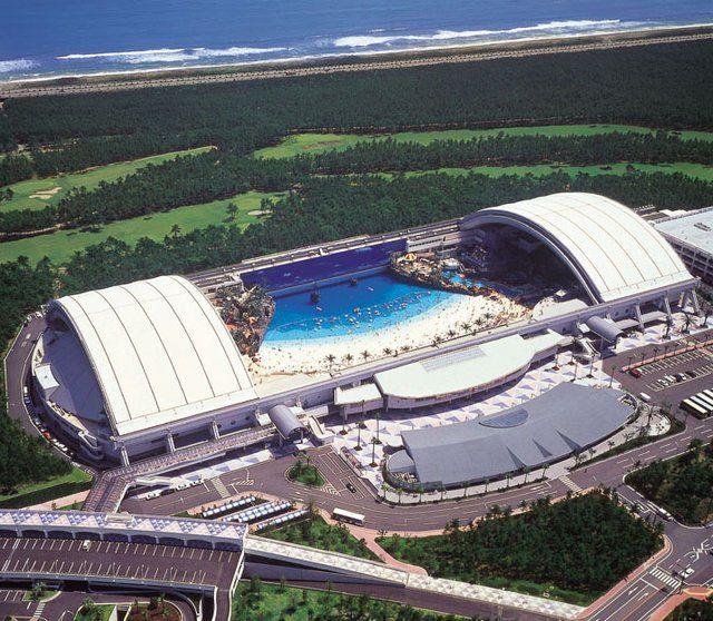 Seagaia Ocean Dome @ Miyazaki, Japan