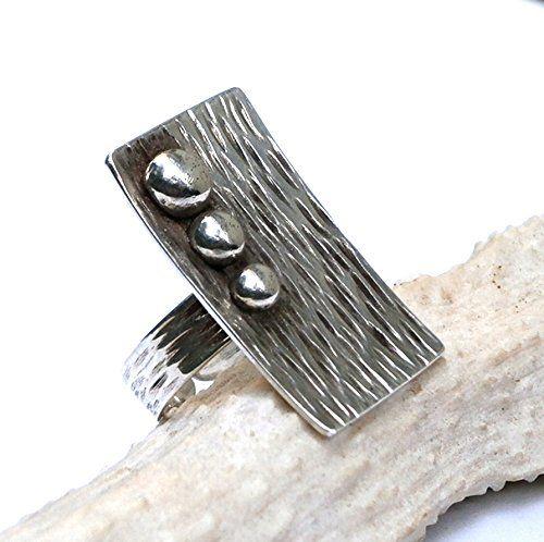 Metalwork Hammered Silver Ring - Silver Stacking Ring - M... https://www.amazon.com/dp/B00Q1U8H80/ref=cm_sw_r_pi_dp_tDCMxbCCJF11N