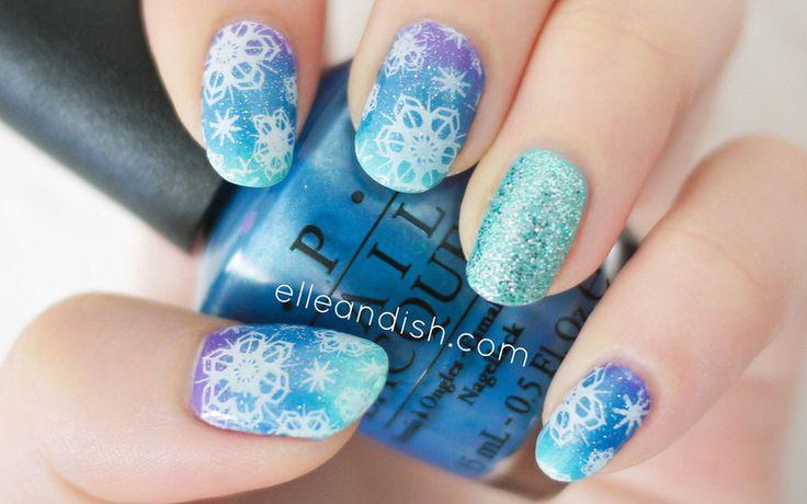 Best 25+ Snowflake nail art ideas on Pinterest | Christmas ...