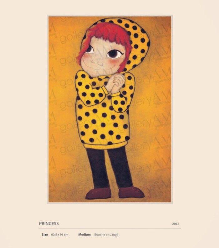 """女人因为是女人而幸福"""",从这样一个理念出发,韩国著名插画作家陆心媛(YOUK SHIMWON)笔下那些或调皮、或羞涩、或优雅从容的大眼睛女孩们嘴角洋溢出..."""