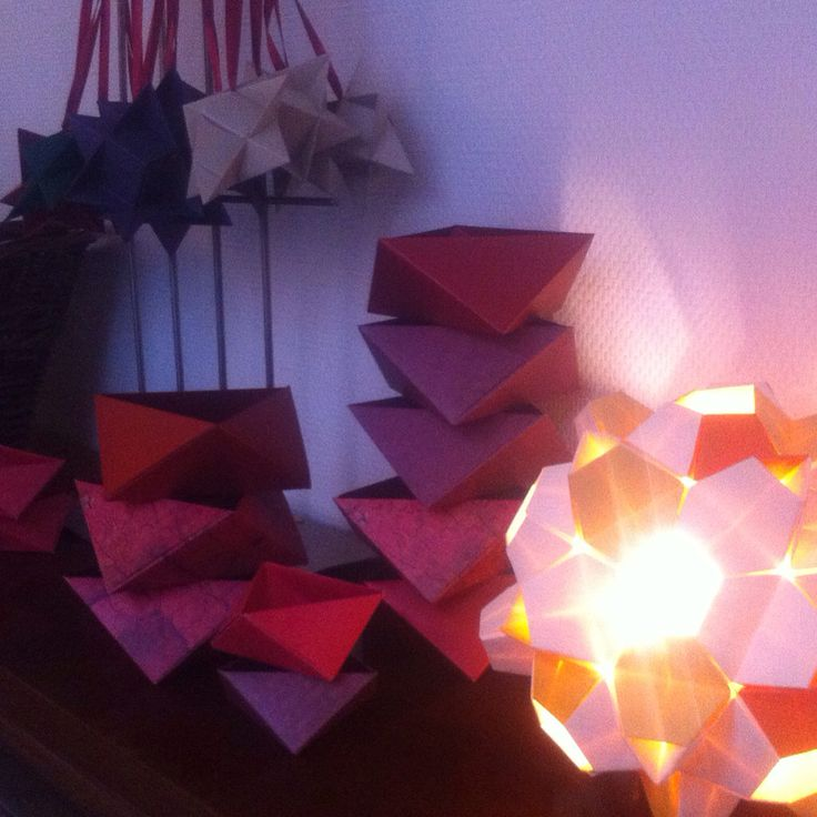 Mere papir juleri fra værkstedet