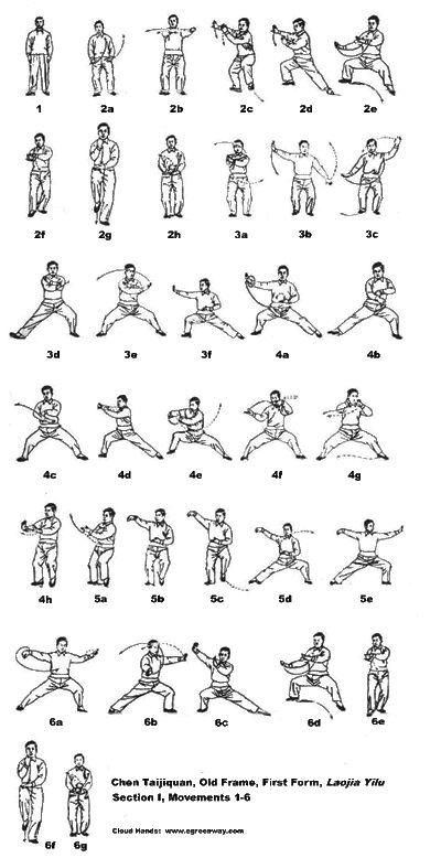 tai chi movements tai chi movements