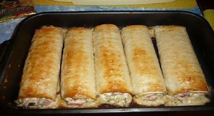 Szeretnénk bemutatni egy olyan tekercs receptet, amely annyira ízletes, hogy senki sem tud betelni vele! Hozzávalók: 4 db pita, vagy kelt tészta (mirelit is jó), 1 db paradicsom, 700 g csirkehús, 150 g kemény sajt, 1 zöld paprika, 2 db savanyú uborka, 150 g sonka, 1 tojás, majonéz és kapor,[...]