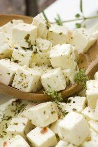 Homemade Feta Cheese...surprisingly easy!!!!