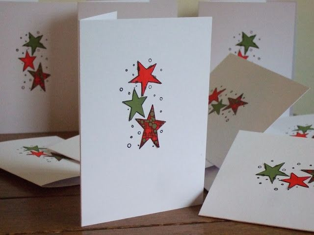 Quick xmas cards Welcome Back Joanne Wardle Project #1 A JOFY Christmas Batch ....