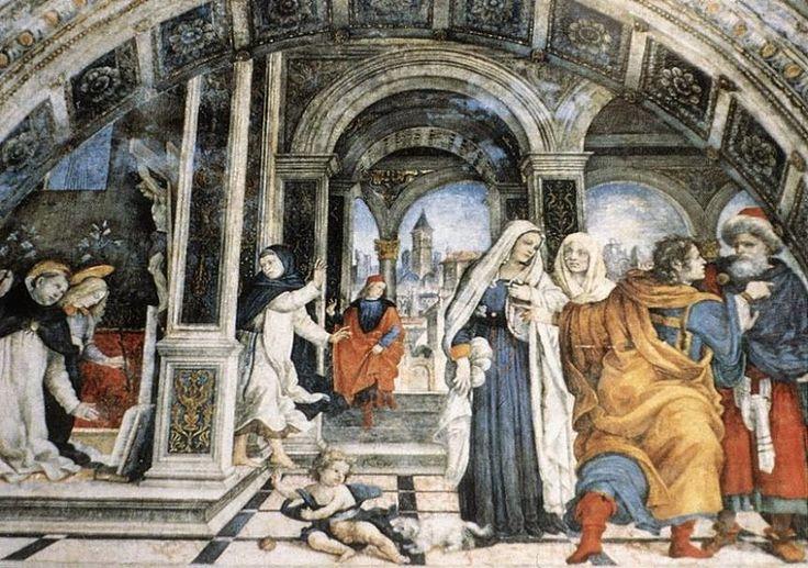 Episodi della vita di san Tommaso d'Aquino (1488-93; Roma, Santa Maria sopra Minerva, Cappella Carafa)