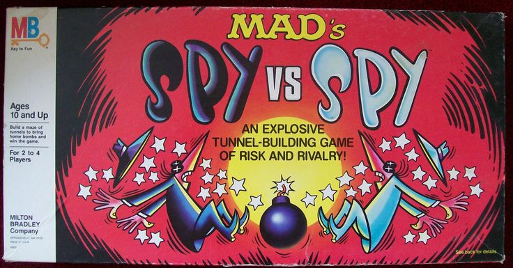 Vintage 1986 Mad's Spy vs. Spy Board Game » All About Fun and Games