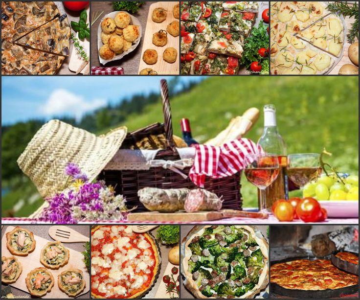 Tante Ricette di Pasquetta semplici gustose e da assaporare anche fredde. Perfette per il picnic fuori porta!Possono essere preparate il giorno prima.