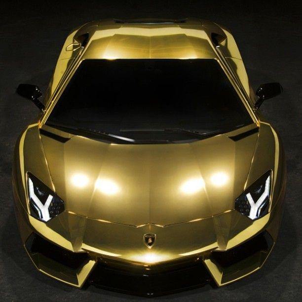 Glistening Gold Aventator