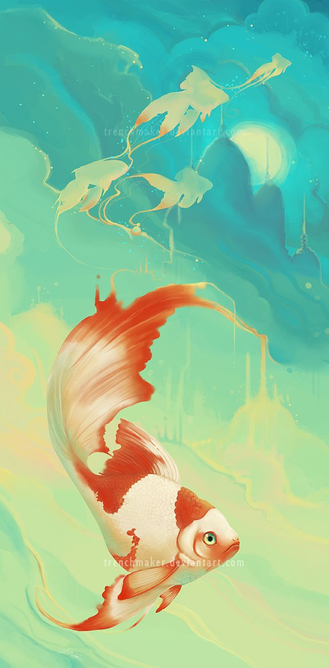 84 best china painting fish aquatic images on pinterest