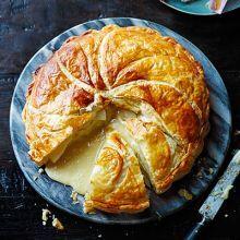 Melty cheese & potato pie