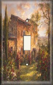 Snazzy Switch - Tuscan Home - Light Switch Plate Cover, $8.99 (https://www.snazzyswitch.com/tuscan-home-light-switch-plate-cover/)